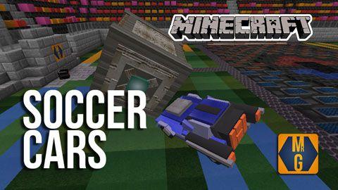 [Map][1.8] Soccer Cars (Rocket League) - карта по известной игре