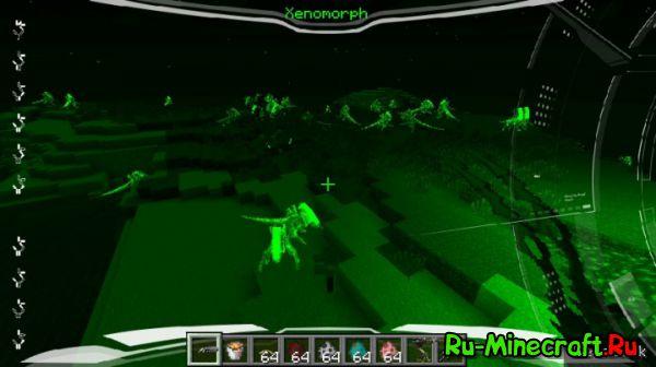 [Mod][1.7.10] Alien Vs Predator