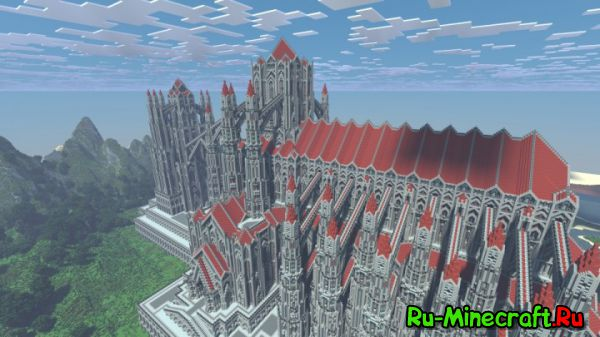 [Map] Castle of Red - Чудесный замок