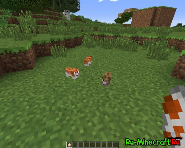 [Mod][1.5.2-1.7.10] Invincible Hamster - хомяки!