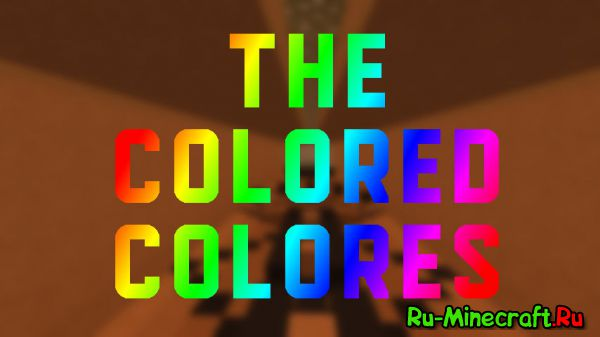 [Map][1.8] The Colored Colores - Parkour Map