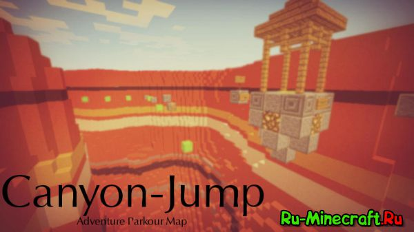 [Map][1.8] Canyon Jump - Adventure Parkour Map