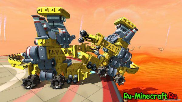 [Game] TerraTech - шикарная песочница-конструктор