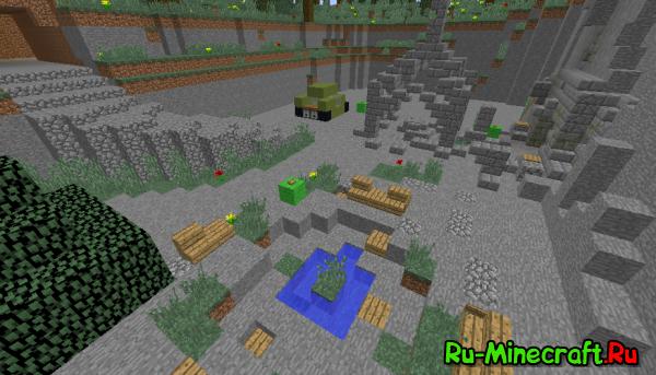 [Map][1.8.8] Гробница красноглазого кроля minecraft