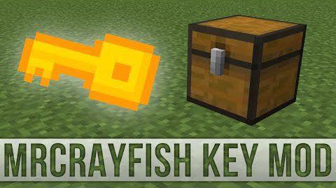 [1.8] MrCrayfish's Key Mod - Ключи для сундуков