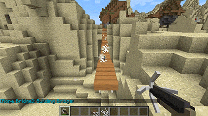 Rope Bridge [1.12.1] [1.11.2] [1.10.2] [1.8.9] [1.7.10]