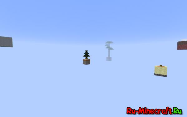 [Map] Sky Islands — Интересная карта для minecraft