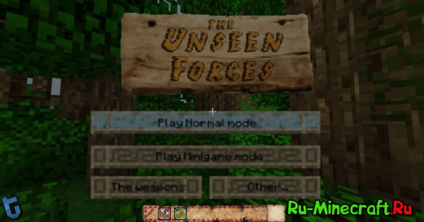 [Map][1.9] The Unseen Forces - Настоящие моб-бои!