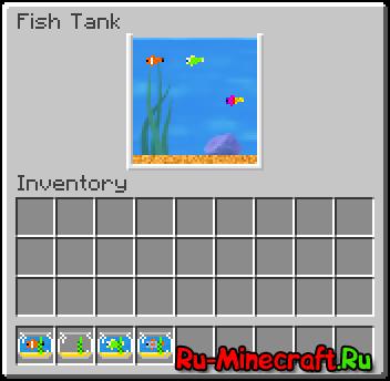 Fancy Fish Mod - рыбный мод для майнкрафт [1.8.91.8]