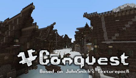 [1.6.4-1.7.x][32x] Conquest Resource Pack - хорошие текстуры