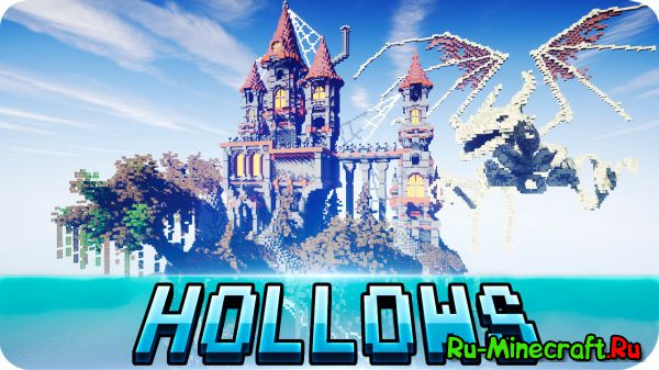 [Map] Bone Hollows - хэллоуин и замок