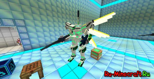 [1.7.10][Мод+Гайд] Tactical Frame - добавь военного хардкора.