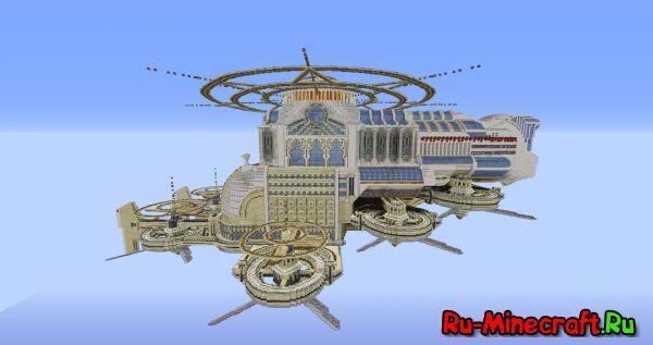 [Map] Lumina White Lotus - Воздушный Корабль!