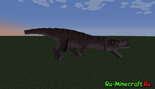 JurassiCraft 2- Динозавры? [1.11.2|1.10.2|1.9.4|1.8.9|1.7.10]