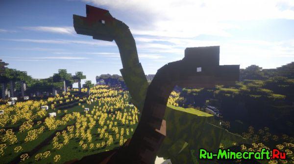JurassiCraft 2- Динозавры в майнкрафт? [1.11.2] [1.10.2] [1.9.4] [1.8.9] [1.7.10]
