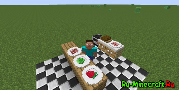 [1.7.10/1.7.2] Cook in a Kitchen - готовим на кухне
