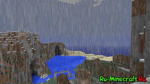 [Resourcepack][1.7+/1.8+] Дождь теперь ещё лучше!