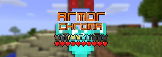 Armor Chroma - Индикатор типа надетой брони [1.12.2] [1.11.2] [1.10.2] [1.7.10]