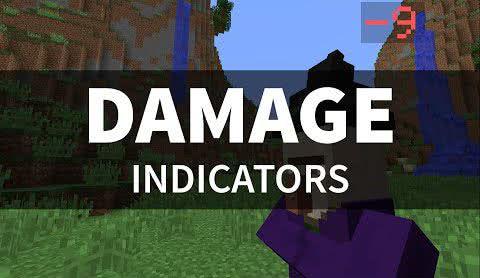 [Command Block 1.9] Damage Indicators - Индикатор атаки и регенерации!