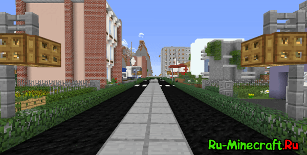 [Клиент][1.7.10] Gera City - реалистичный город