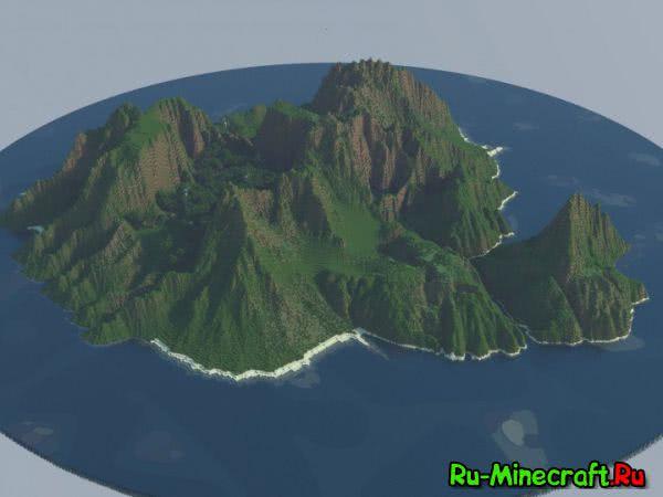 [Map] Jurassic isle — Остров Юрского периода!
