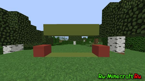 [Гайд] Как пролезать в проход в один блок в Minecraft без модов? 1.8+