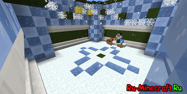 [Map][Minigame] Snowflake Dropper