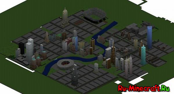 [Map 1.8] Olympia City - Современный Город