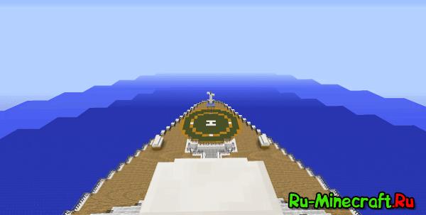 [Map][1.8/1.8.8] Oasis of The Seas - Красивый Корабль