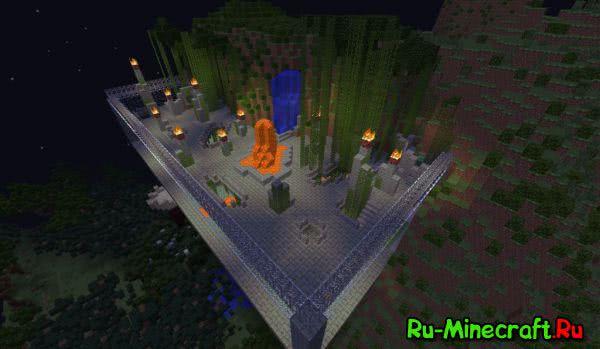 [Map][1.7.10] Wild Asylum - Дикий Изолятор. Арена для битв с друзьями
