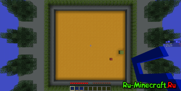 [Map 1.8/1.8.9][MiniGame] Eating Blocks - PacMan в Minecraft!