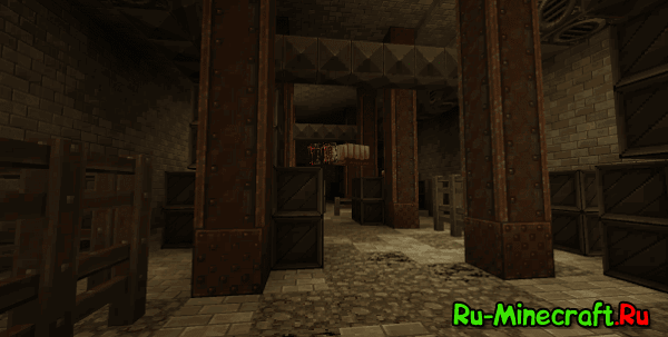 [Map 1.8/1.8.8] Metro Post-Apocalypse - Апокалипсис в Minecraft!
