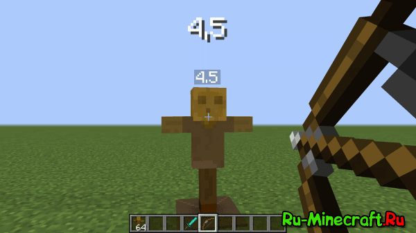 Test Dummy mod - манекен [1.12.2] [1.11.2] [1.10.2] [1.9.4] [1.8.9] [1.7.10]