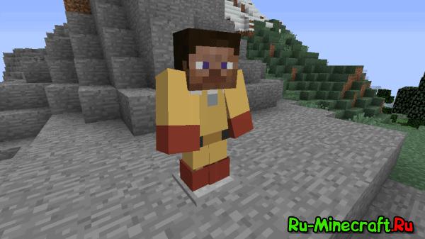 [1.7.10-1.8] OnePunch Man Mod - Лысый герой!