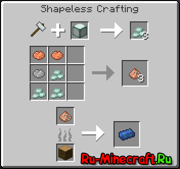 Base Metals Mod -  новые металлы [1.11.2] [1.10.2] [1.9.4] [1.8.9]