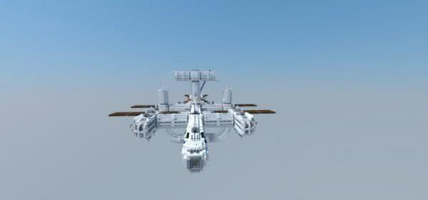 [MAP] John Glenn-Class Space Destroyer - космическая станция