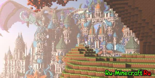 [MAP] Divines Skyworld- чудесный замок - спавн