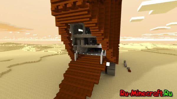 [Карта] Sandcrawler STAR WARS в Minecraft