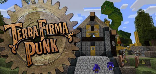 [Client][1.7.10] TerraFurmaPunk = Хардкорный мод + Квесты