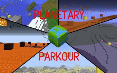 [Карта][1.9] Planetary Parkour - Прыгаем по планетам
