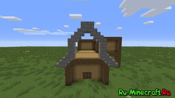 [Туториал][1.7+] Как построить красивый дом в майнкрафт