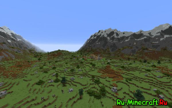 Realistic Terrain Generation - Красивые биомы [1.10.2] [1.9.4] [1.8.9] [1.7.10]