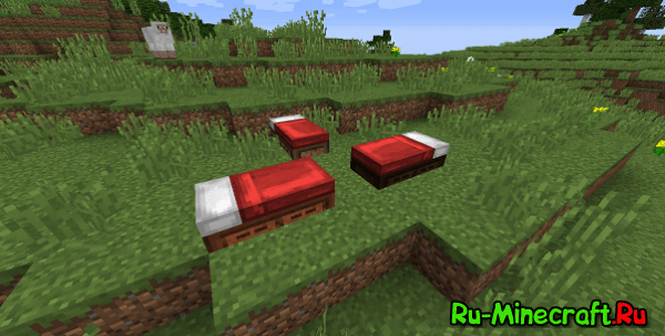[Mod 1.7.10/1.8.9] Bed Craft and Beyond - Кровати!