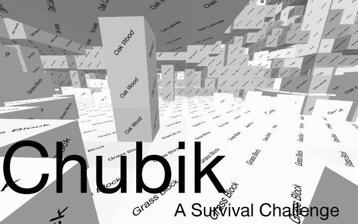 [Resourcepack][1.7.10—1.9.2] [128x — 512x] Chubik — ультра минимализм