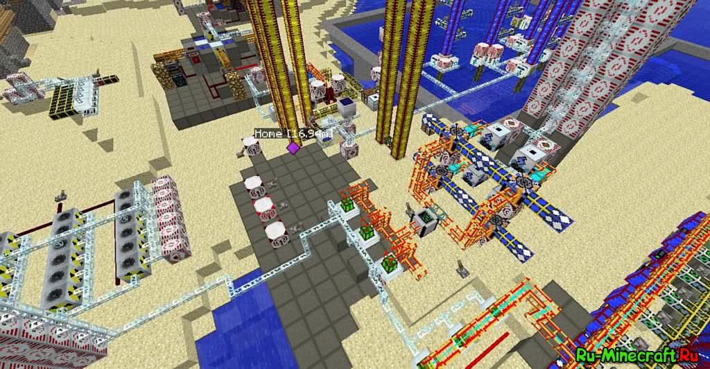Сервера Майнкрафт с модом Industrial Craft - мониторинг ...