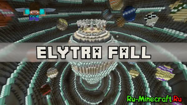 [Map][v1.9.1-pre3] Elytra Fall - Докажи что ты умеешь летать