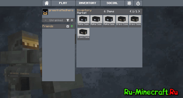 [Client][1.6.4] Counter Craft - CS:GO в Minecraft?