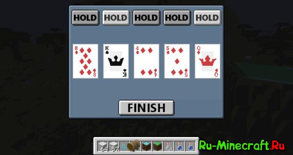 CasinoCraft - казино, карты [1.10.2|1.7.10]