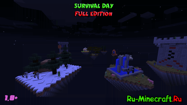 [Map][1.8-1.8.9] Survival Day FULL Edition