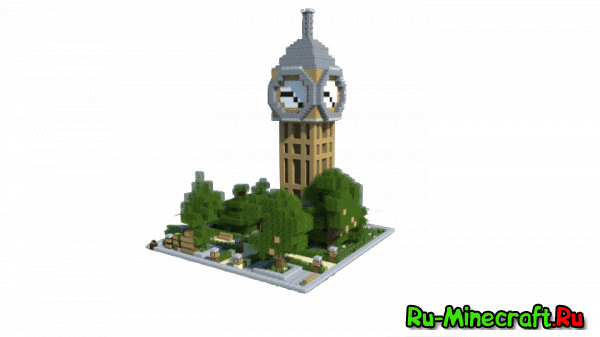 [Map][1.9-1.7.10] Dennie's Building Bundle - Очень много построек!
